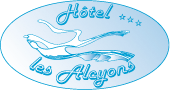 Hôtel au Lavandou – Les Alcyons, Hôtel *** (plage d'Aiguebelle)